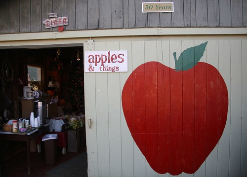 Apple barn door
