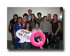 Avenue Q Cast with Abi, Jimelle, Drei's mom and Me