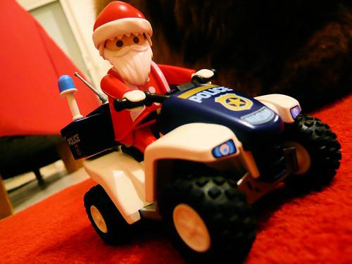 Père Noël moderne // Modern Santa