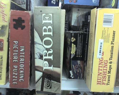 Probe: The Number 1 Prefered Board Game of Proctologists