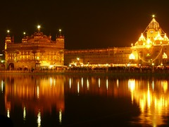 Golden Temple (chughsjs61) Tags: india lights nightshot illumination newyear punjab amritsar breathtaking goldentemple blueribbonwinner 10faves flickrsbest lumixfz50 platinumphoto superbmasterpiece diamondclassphotographer ysplix platinumphotograph theperfectphotographer worldtrekker