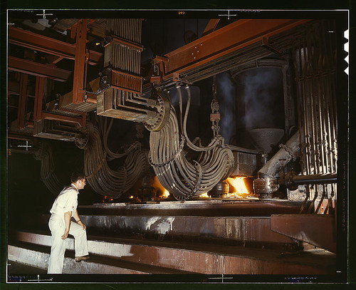 Library of congress image - smelter june 1942