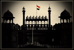 Happy Republic Day! (~Vishal~) Tags: india flag vishal pp redfort indianflag republicday dfc vishalkhemka