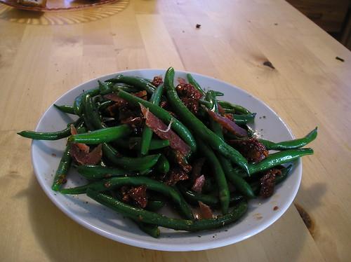 Mosciame del Tonno and Green Bean Salad