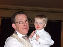Me and Ben (star of the show) (Swirvin) Tags: wedding do suit function pageboy