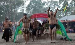 aboriginal serpent entrance (Beautiful wwworld) Tags: party dance bush ceremony australia victoria psytrance aboriginal openingceremony doof rainbowserpentfestival rainbowserpent aboriginie rainbowserpentfestival2008 rsf2008