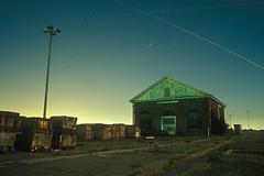 Forgotten (Lost America) Tags: sanfrancisco film night navy fullmoon timeexposure hunterspoint shipyard pumphouse abandonedmilitary