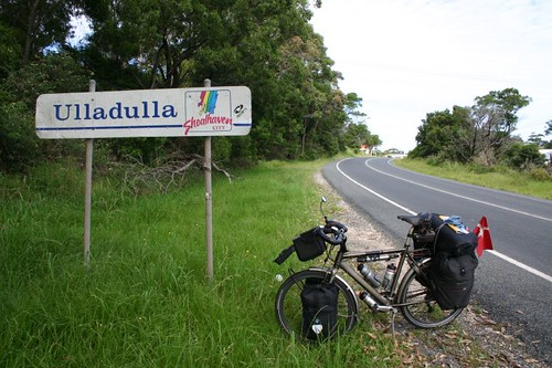 Ulladulla - what a stupic slash cute name for a town...NSW.