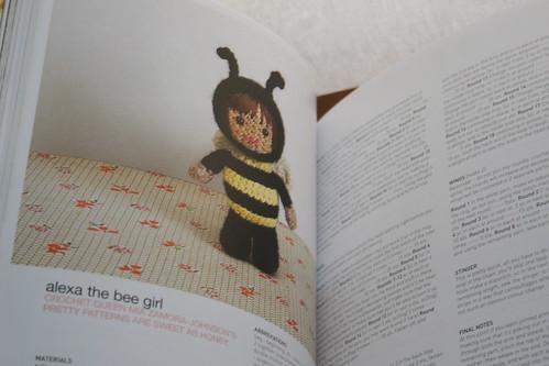 Alexa the bee pattern!