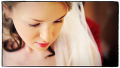 Gentle Glance (Ryan Brenizer) Tags: wedding woman beautiful bride march nikon pretty bokeh lips eyelash 2008 d3 westchester 2470mmf28g missyandcharlie