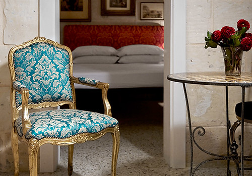 mlv blue chair