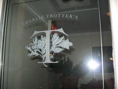 Charlie Trotter's: Signage