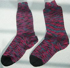 Nadel-Test-Socken