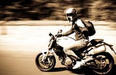 Basta Un Giorno Cos... (giocagg) Tags: test sun selfportrait speed freedom helmet free fast run io motorbike moto justme ducati palermo rider casco velocit testdrive airoh