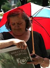 What you really need (Dadissad of Serendiville) Tags: summer umbrella heat granny birra tirana korca cader bestflickrphotography
