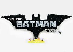 The LEGO Batman Movie Logo (BrickinNick (DarthNick)) Tags: the lego batman movie logo creation moc time lapse timelapse robin joker harley quinn batgirl collectible minifigures