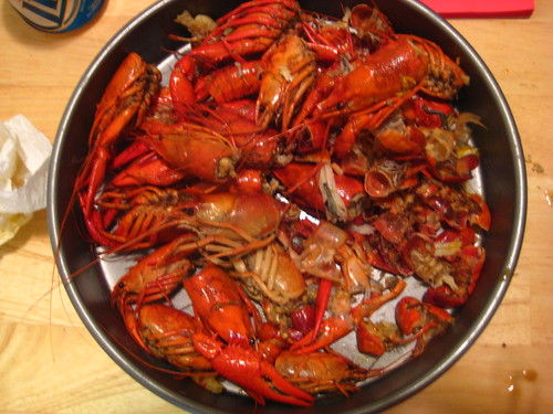 pan o' crawfish.