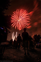 Fireworks (Barry J. Schwartz) Tags: canon fireworks july4th watchingfireworks 24l 5dmkii 5dmk2 barryjschwartzcom