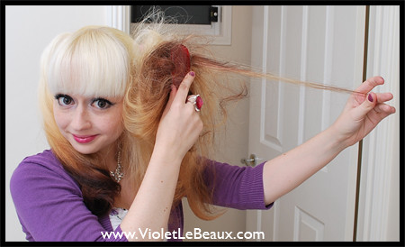 Sensational Double Buns Hairstyle Tutorial Violet Lebeaux Tales Of An Ingenue Hairstyles For Men Maxibearus