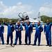 07 Crew arrival - Photo Credit: Michele Famiglietti AMS02 Collaboration