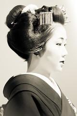 Maiko zazen (Stphane Barbery) Tags: japan kyoto maiko geiko geisha   japon