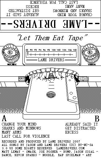 let them eat tape