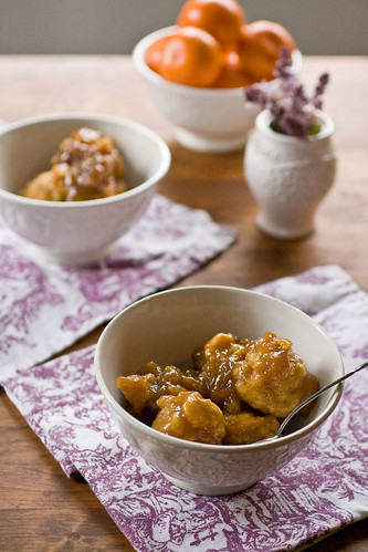 Grands Peres - Quebec Maple Syrup Dumplings