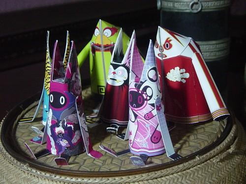 Shin Tanaka Paper Dolls Set 2 11
