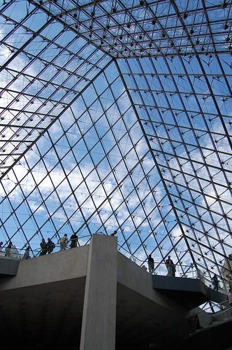 羅浮宮金字塔內部