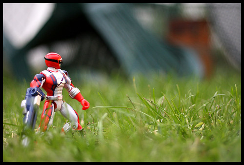 Power Ranger Stalking...