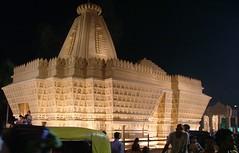 Temporary Temple (lokenrc) Tags: autumn india festival temple goddess calcutta durgapuja pandel mywinners diamondclassphotographer rajashanitemple