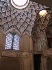 Borujerdi House in Kashan (HAMID52) Tags: iran kashan historicalhouses borujerdihouse