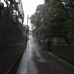 須藤公園脇の坂