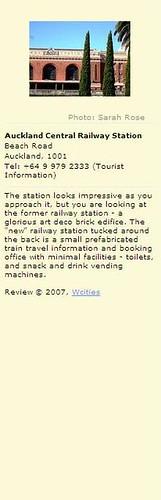 Auckland Railway Station