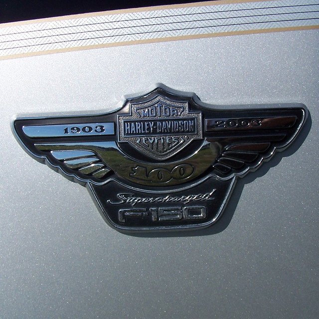 black ford truck silver emblem square wings louisiana lafayette pickup f150 badge harleydavidson pinstripe 2007 supercharged dx6490 2865 mallofacadiana halliburtonchilicookoff