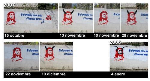 Mural con Che Guevara