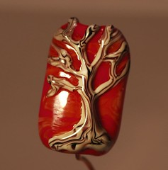 red fire tree bead