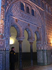 Alcazar - Horseshoe arches