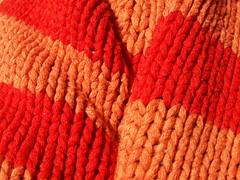 orange sweater (Mamluke) Tags: light orange sun sunlight me sweater stripes experiment knit amarelo turtleneck woven knitted tageslicht sunlit arancione zonlicht anaranjado lumièredusoleil luzdelsol mamluke lucesolare