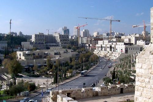New City Jerusalem skyline. צילום: runnerralan2004. צילום: flickr
