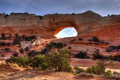 Wilson Arch, Utah (Thad Roan - Bridgepix) Tags: landscape utah sandstone rocks arch explore redrocks moab geology wilsonarch 200711
