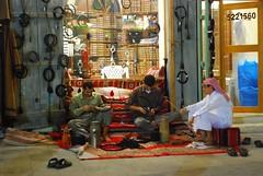 Souq Wakif - agal mending services