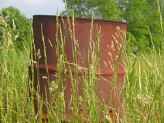 Barrel (jj3000) Tags: grass photography farm barrel
