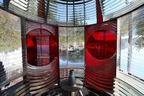 Inside Cape Meares Lighthouse