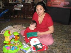 Santa was very generous!