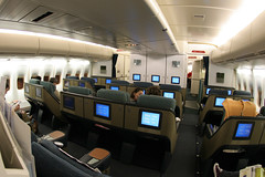 Cathay Pacific Business Class (Ch.H) Tags: fish paris eye view pacific class business cathay 747467