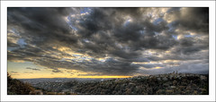 St Paul de Vence (Anakronik) Tags: blue sky orange france architecture clouds canon village perspective côtedazur paca bleu ciel nuage f11 eos350d hdr 100iso stpauldevence efs1022usm 3ex anakronik frencriviera