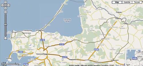 kaliningrad_trip_map