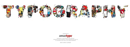 AmazType - a Typographic Book Search