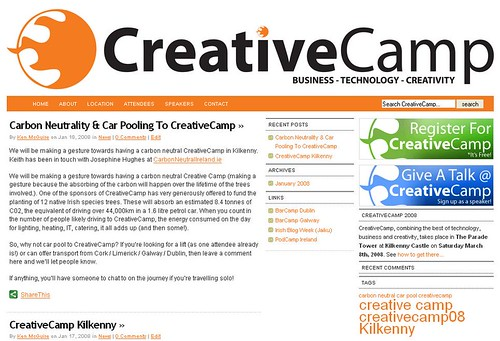Creativecamp Screenshot